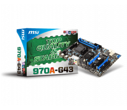 MSI 970A-G43 (2xPCI-E DDR3)