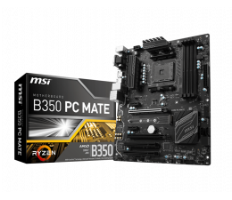 MSI B350 PC MATE (2xPCI-E DDR4 USB3.1/M.2)