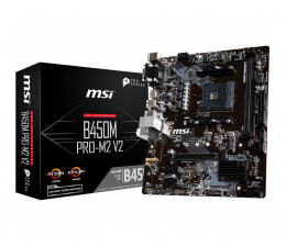 MSI B450M PRO-M2 v2