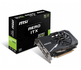 MSI GeForce GTX 1060 Aero ITX OC 3GB GDDR5 (GeForce GTX 1060 AERO ITX 3G OC)