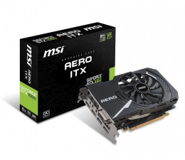 MSI GeForce GTX 1060 Aero ITX OC 6GB GDDR5 (GTX 1060 AERO ITX 6G OC)