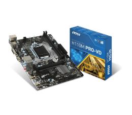 MSI H110M PRO-VD (H110 PCI-E DDR4)