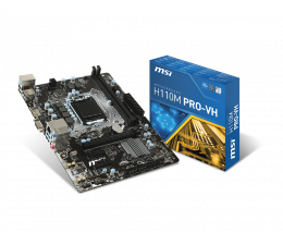 MSI H110M PRO-VH (H110 PCI-E DDR4)