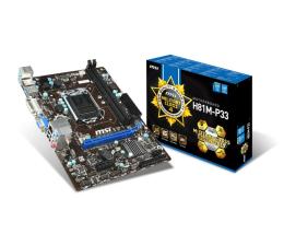 MSI H81M-P33 (PCI-E DDR3)