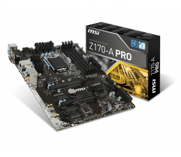 MSI Z170-A PRO (Z170 2xPCI-E DDR4)