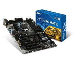 MSI Z170A PC MATE (Z170 2xPCI-E DDR4)