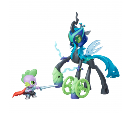 My Little Pony Movie GOH Pogromcy Królowa Chrysalis i Spike (B7298)