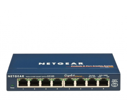 Netgear 8p GS108GE (8x10/100/1000Mbit) (GS108GE)