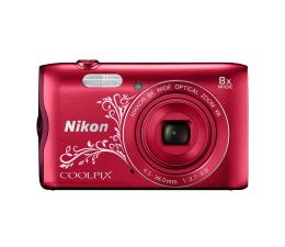 Nikon Coolpix A300 czerwony z ornamentem (VNA964E1)