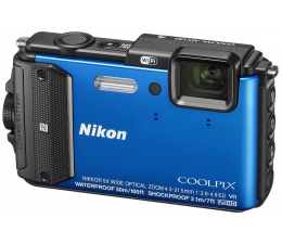 Nikon Coolpix AW130 niebieski (VNA841E1)