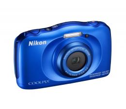 Nikon Coolpix W100 niebieski + plecak  (VQA011K001)