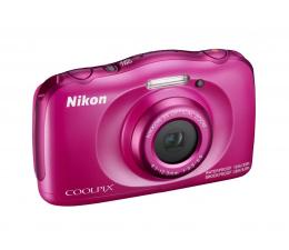 Nikon Coolpix W100 różowy + plecak  (VQA012K001)