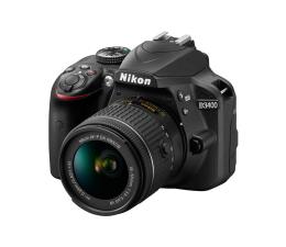 Nikon D3400 + AF-P 18-55mm VR + torba + karta 16 GB  (VBA490K009)