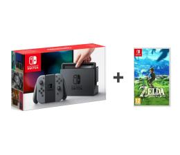 Nintendo Switch Grey Joy-Con + Legend of Zelda BoTW (NSH001)