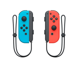 Nintendo Switch Joy-Con Pair Red/Blue + SNIPPERCLIPS (045496430689)