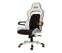 Nitro Concepts E220 Evo Gaming (Biało-Pomarańczowy) (NC-E220E-WO)