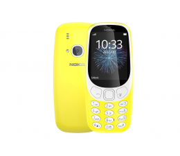 Nokia 3310 Dual SIM żółty (TA-1030 NV PL YELLOW)
