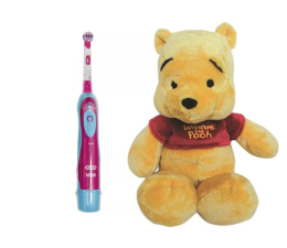 Oral-B D2 Kids Girl + Kubuś Puchatek (247512+509854)