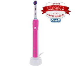 Oral-B PRO 750 różowa elektryczna (PRO 750 PINK NEW)