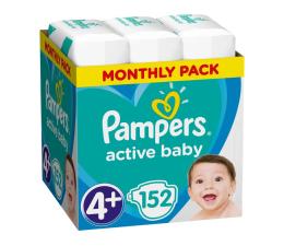 Pampers Active Baby 4+ 10-15kg 152szt Zapas Na Miesiąc (8001090910905)