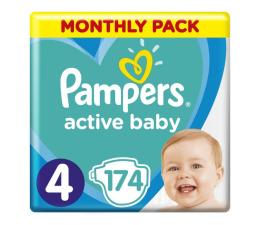 Pampers Active Baby 4 Maxi 9-14kg 174szt Zapas na miesiąc (8001090910820)