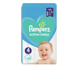 Pampers Active Baby 4 Maxi 9-14kg 49szt (8001090949851)
