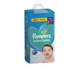Pampers Active Baby 4+ 10-15kg 120szt (8001090951694)