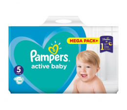 Pampers Active Baby 5 Junior 11-16 kg 110szt (8001090951779)