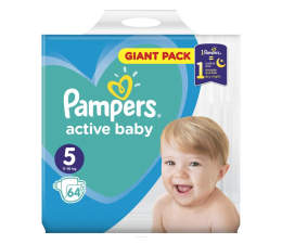 Pampers Active Baby 5 Junior 11-16kg 64szt (8001090949974)