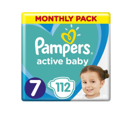 Pampers Active Baby 7 Large XXL 112szt (8001090911100)
