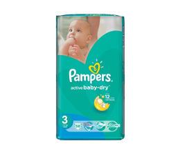 Pampers Active Baby Dry 3 Midi 4-9kg 58szt (4015400735625 VP)