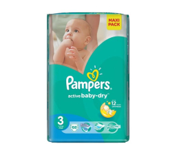 Pampers Active Baby Dry 3 Midi 4-9kg 68szt (4015400735922 EconomPack)