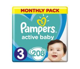 Pampers Active Baby Dry 3 Midi 6-10kg 208szt Na Miesiąc (8001090910745)