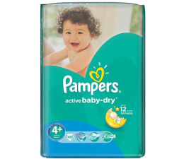 Pampers Active Baby Dry 4+ Maxi 9-16kg 45szt (4015400735724 VP)