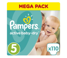Pampers Active Baby Dry 5 Junior 11-18kg 110szt Na Miesiąc (8001090459541 MB)