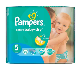 Pampers Active Baby Dry 5 Junior 11-18kg 36szt (4015400649809)