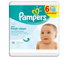 Pampers Baby Fresh Sextet 6x64 szt. (4015400439295)