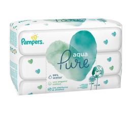 Pampers Chusteczki Aqua Pure NASĄCZONE WODĄ 3x48szt (8001090603388)