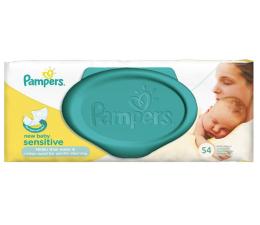 Pampers Chusteczki Nawilżane New Baby Sensitive 54szt (4015400686101)