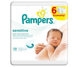 Pampers Chusteczki pielęgnacyjne Sensitive 6x56 (336 szt.) (4015400636748)