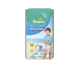 Pampers Do Pływania Splashers 5 Junior 14kg+ 10szt (8001090728951)