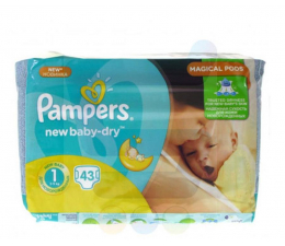 Pampers New Baby 1 Newborn 43 szt. (4015400264491)