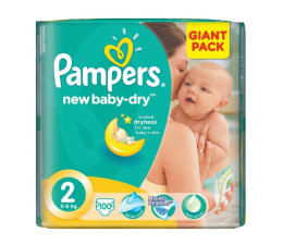 Pampers New Baby Dry 2 Mini 3-6kg 100szt (8001090458865 GP)