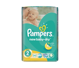 Pampers New Baby Dry 2 Mini 3-6kg 68szt (4015400735571 VP)