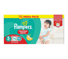 Pampers Pieluchomajtki Active Baby 5 Junior 11-18kg  96szt (4015400697541 Pants)