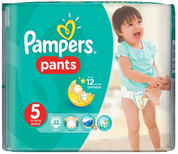 Pampers Pieluchomajtki Active Baby 5 Junior 12-18kg 22szt (4015400672685 Pants)