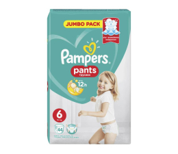 Pampers Pieluchomajtki Active Baby 6 Large 15kg+ 44szt (4015400674023 Pants)