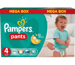 Pampers Pieluchomajtki Active Baby Pants 4 Maxi 104 szt. (4015400697534)