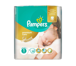 Pampers Premium Care 1 Newborn 2-5kg 22szt (4015400687696 Premium)
