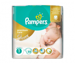 Pampers Premium Care 1 Newborn 2-5kg 88szt (4015400741602 Premium VP)